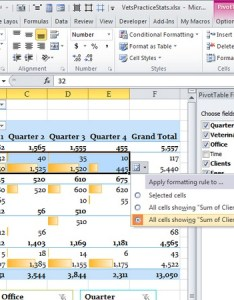 Extending the conditional format to other similar pieces of data in pivottable also formatting for pivot tables excel rh ablebits