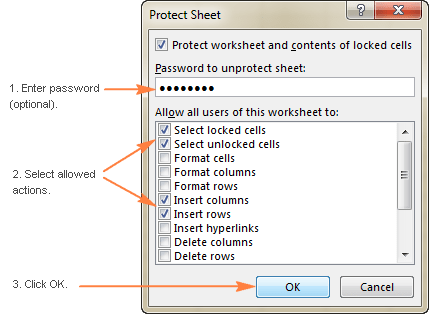 How To Protect Worksheets And Unprotect Excel Sheet