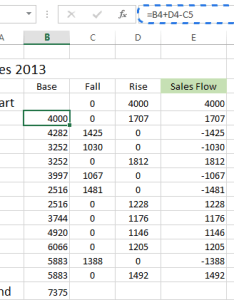 Insert the formula to calculate base values also how create waterfall chart in excel rh ablebits