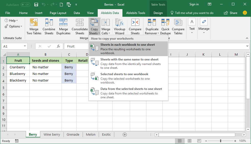 Merge multiple Excel files into one without copying and pasting