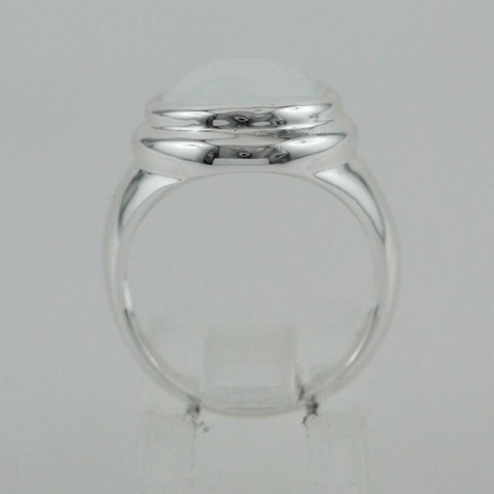 Ring Sterling Silber 925 synthetischer Mondstein  Ch