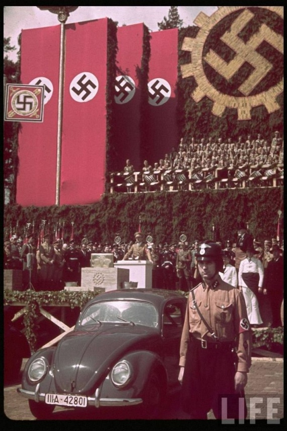 Nazi Germany Color Photos From LIFE Archive