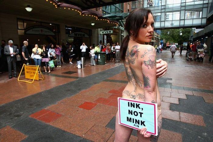 Sexy Peta Protest 9 Pics