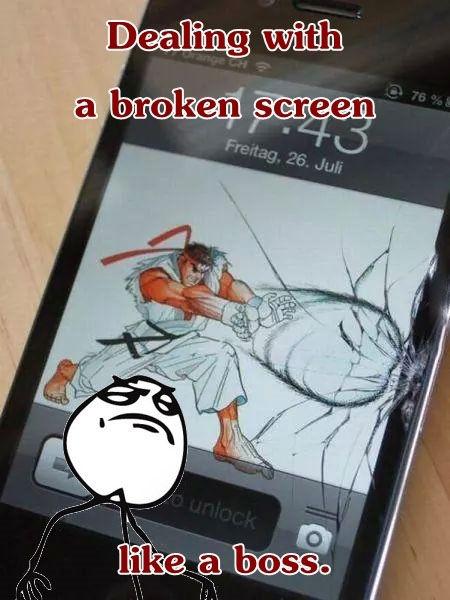 Cracked Iphone 5 Screen Wallpaper Acid Picdump 104 Pics