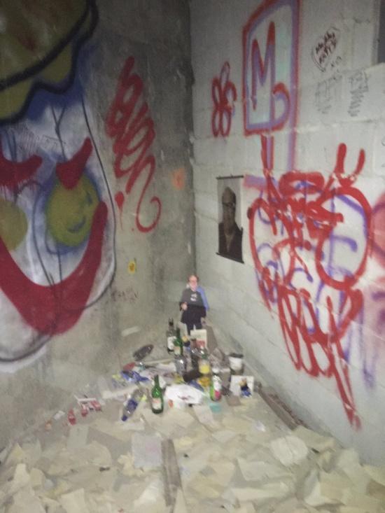 Danny DeVito Shrine Hidden Behind The Paper Towel
