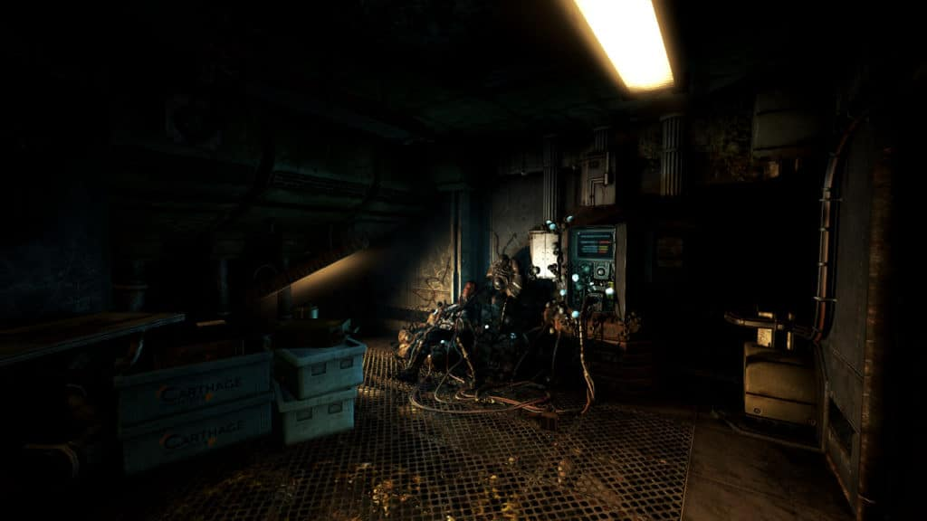 A mysterious stranger is found (Image Credit: Frictional Games / Soma)
