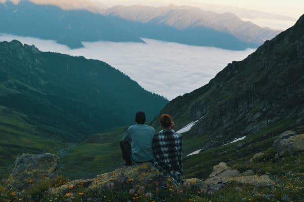 Date idea: Go on a hike with your partner