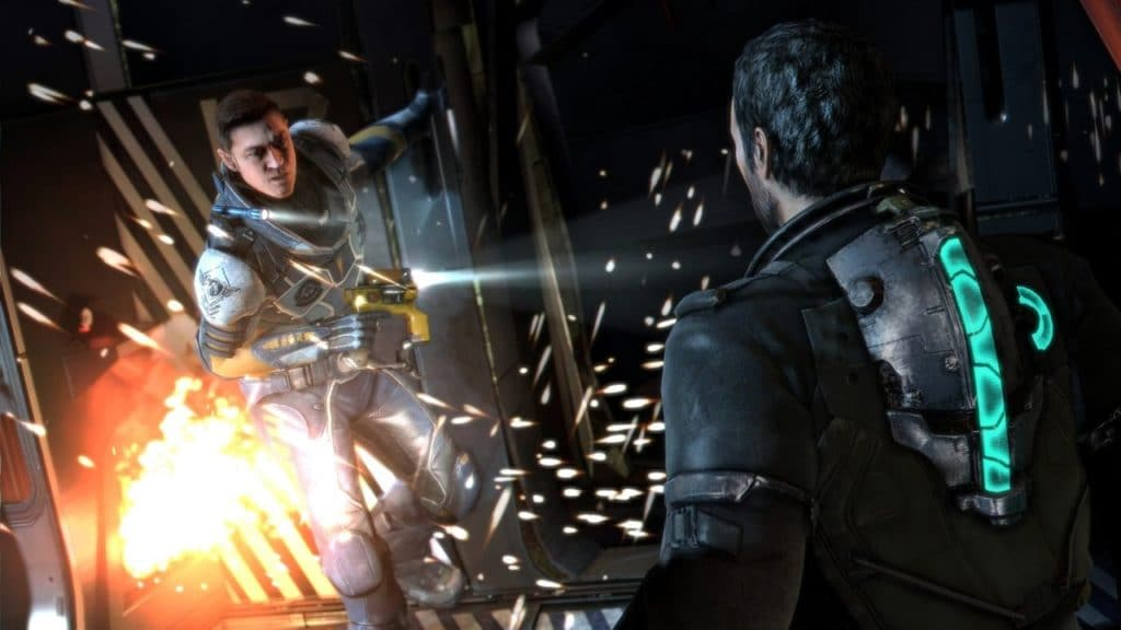 Dead Space Isaac Clarke and Robert Norton (Image Credit: Visceral Games / Electronic Arts)