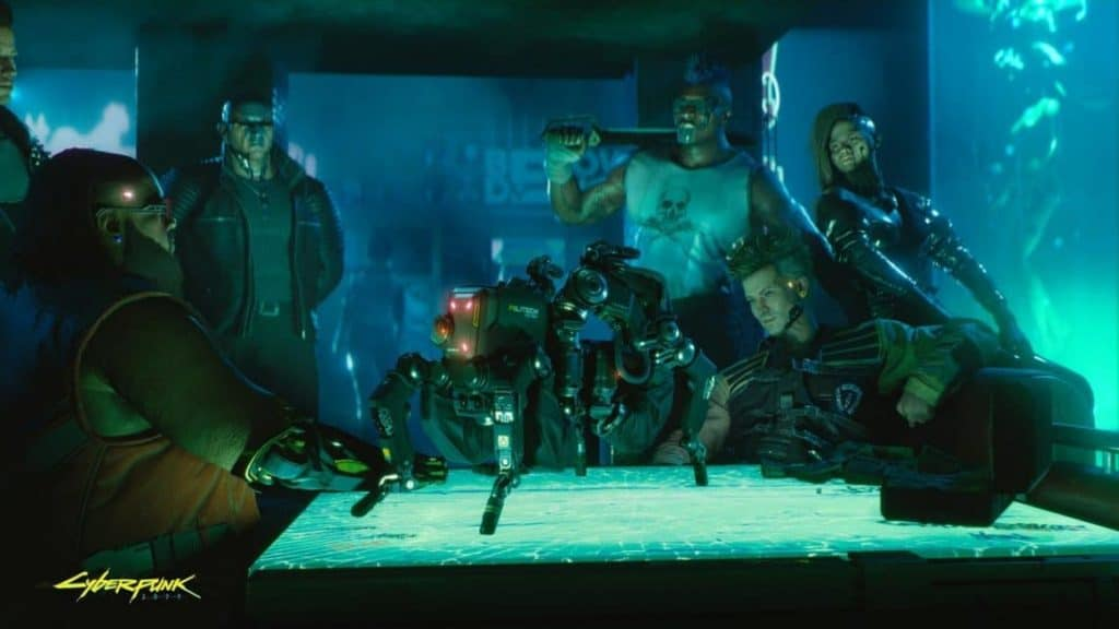 Cyberpunk 2077 Dex and the bot