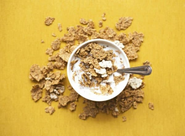 Cereals are a prebiotic food, which helps boost the population of probiotics in your gut.