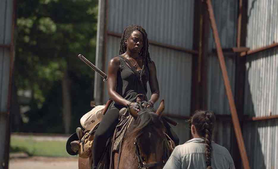 Michonne years after Rick's death aka disappearance (Image Credits: Gene Page / AMC)