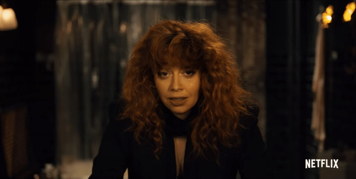 "Nadia isn't particularly pleased about the Nth iteration of her 36th birthday in ""Russian Doll"" (Image Credits: Netflix)"