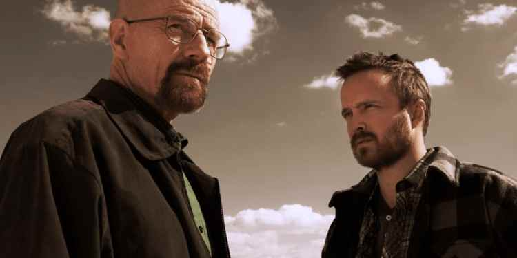 """""""Breaking Bad's"""" iconic duo Walter White and Jesse Pinkman (Image Credits: AMC)"""
