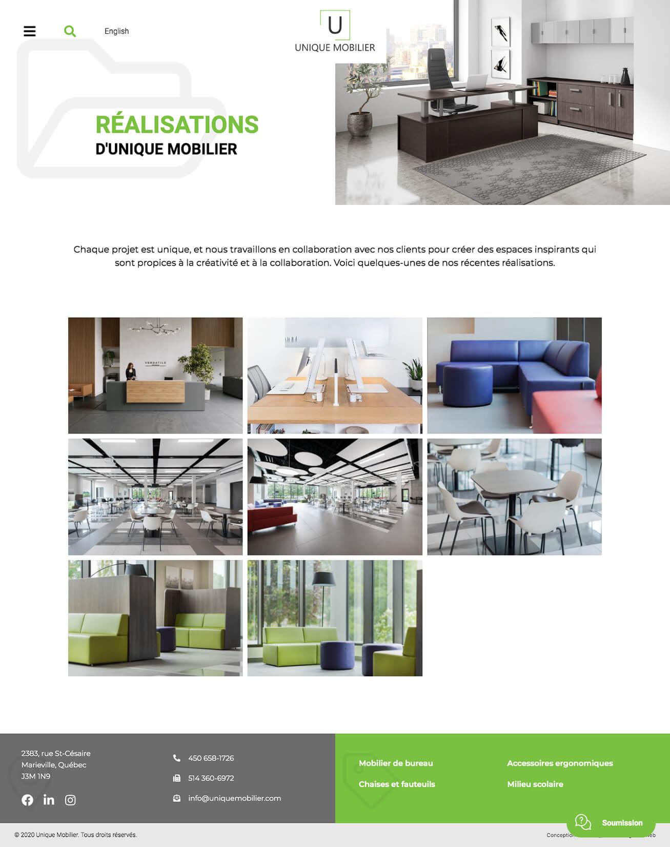 unique mobilier activis your web agency