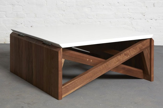 nextcrave mk1 transforming coffee table