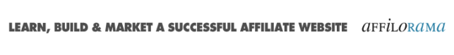 Affiliate Marketing on Affilorama
