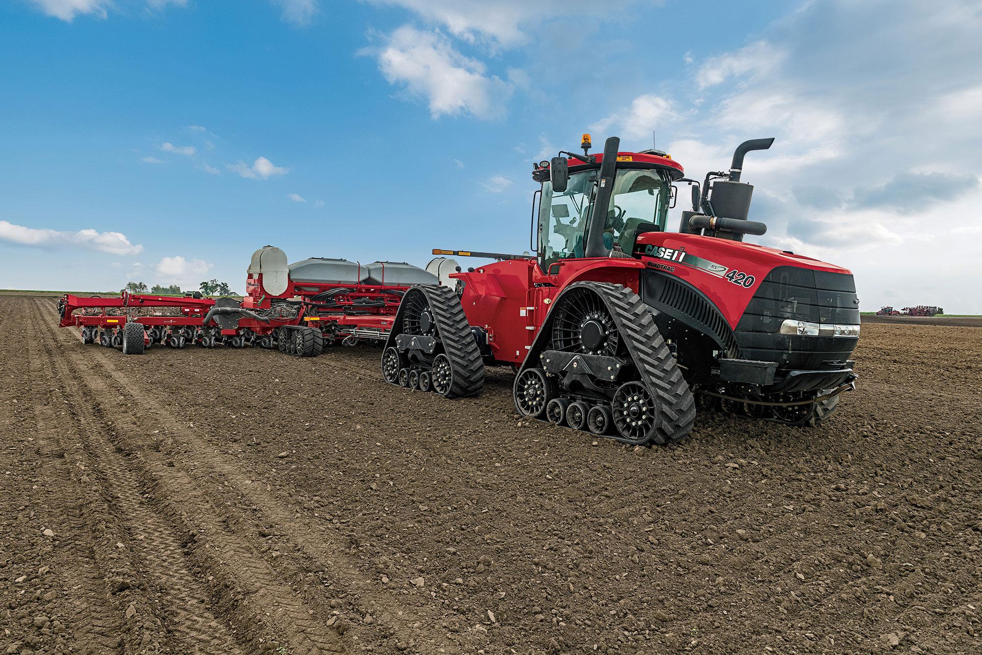 Case IH Updates Steiger series tractors for model year