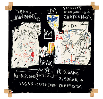 The Concrete Hip Hop Poetry Of Jean Michel Basquiat Alexia Naidoo