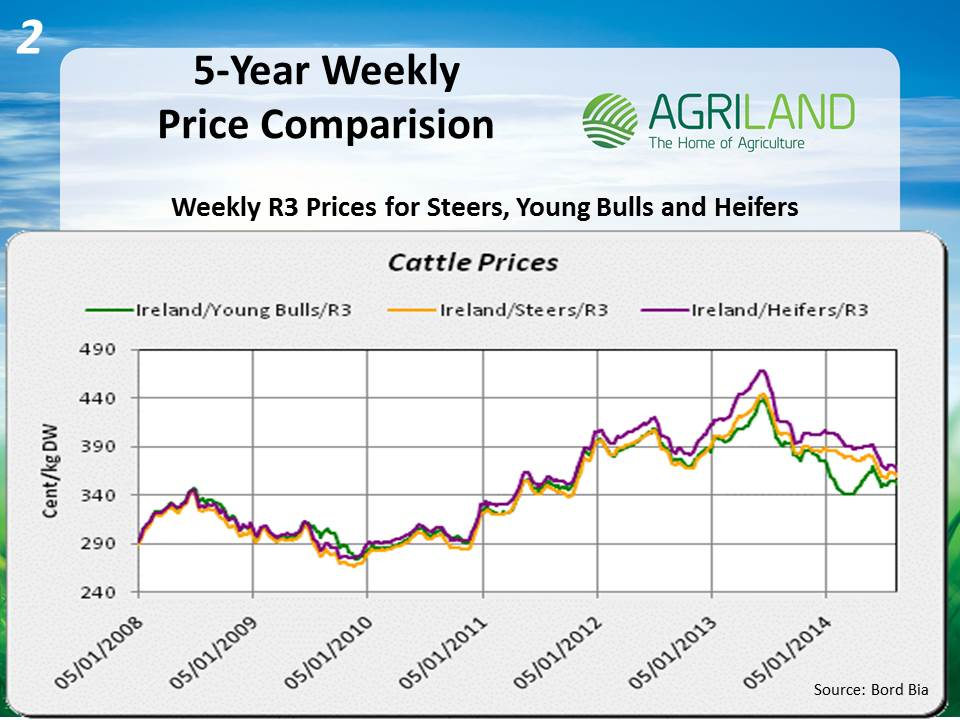 Analysis of the Irish beef trade: prices down 10% imports ...