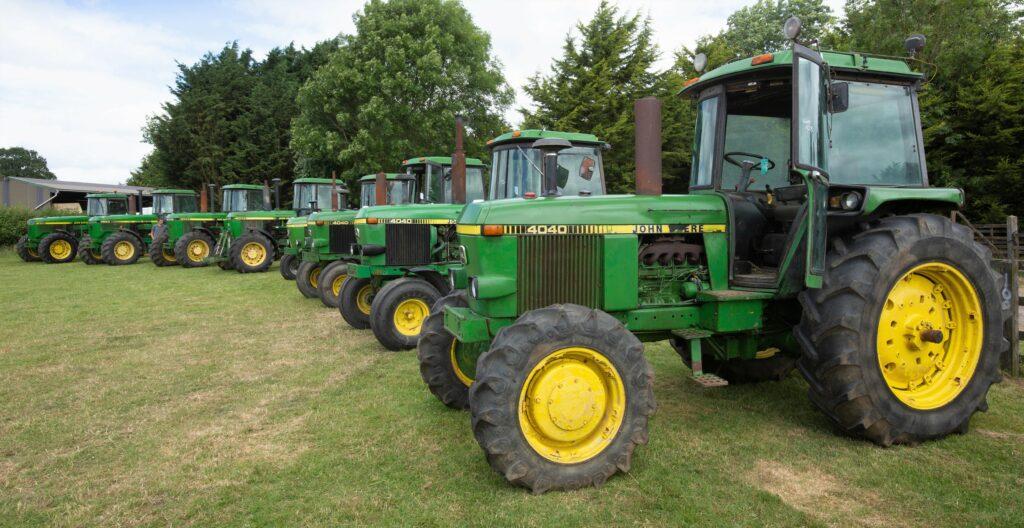 Tractores John Deere de ocasión a la venta