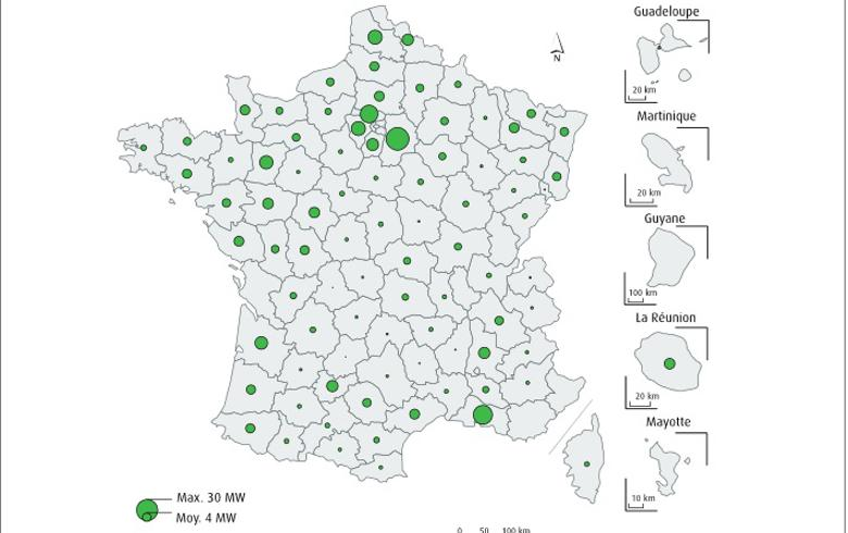 France counts over 400 biogas power plants