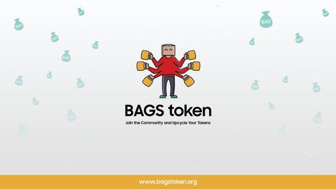 BAGS token banner