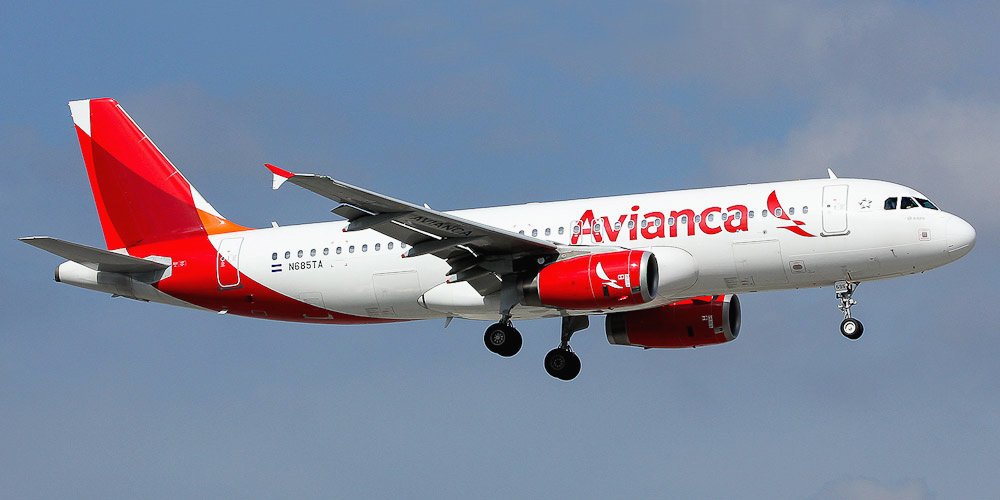 Avianca El Salvador. Airline code. web site. phone. reviews and opinions.