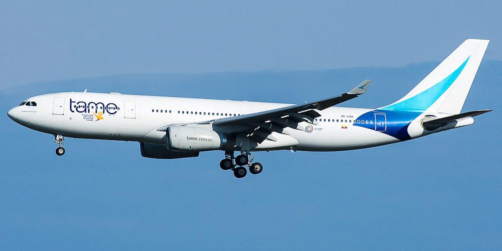 TAME Linea Aerea del Ecuador. Airline code. web site. phone. reviews and opinions.