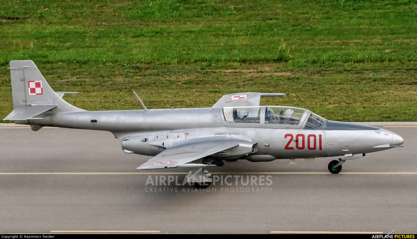 2001 Poland Air Force Pzl Ts 11 Iskra At Deblin Photo