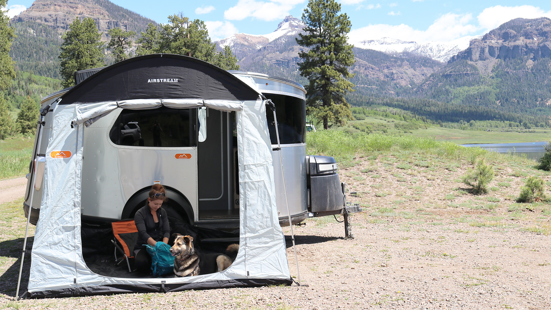 hight resolution of airstream basecamp side tent