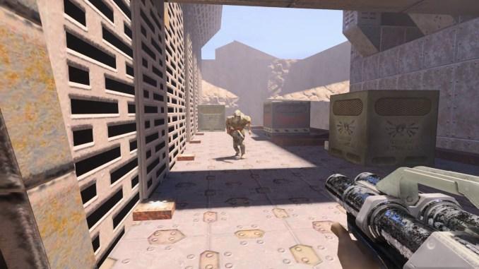 Quake II RTX screenshot 1