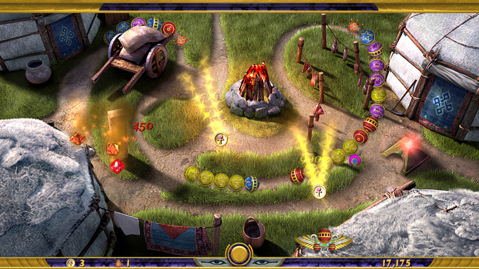Download Luxor Quest For The Afterlife Full PC Game