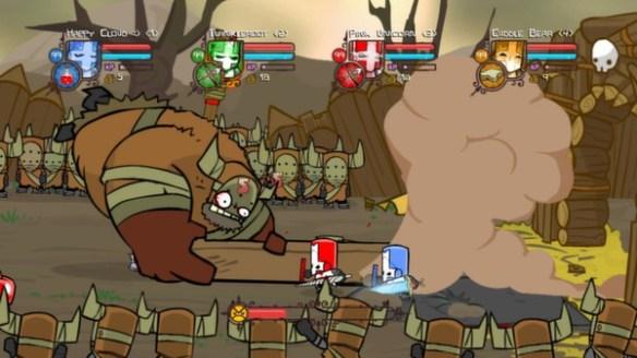 Castle Crashers - Babarian's Boss