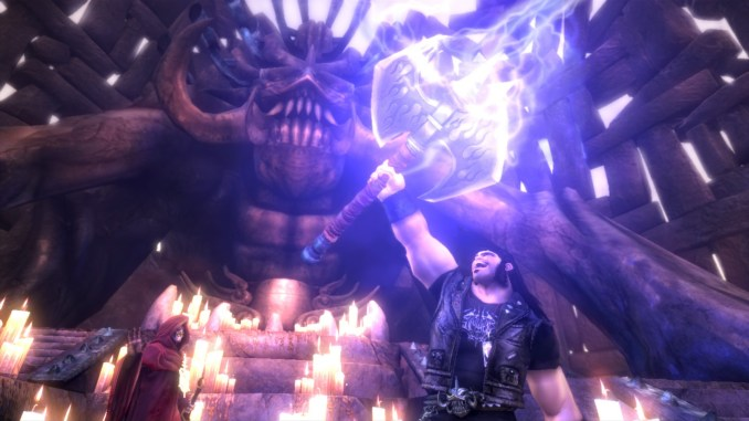 Brutal Legend screenshot 2