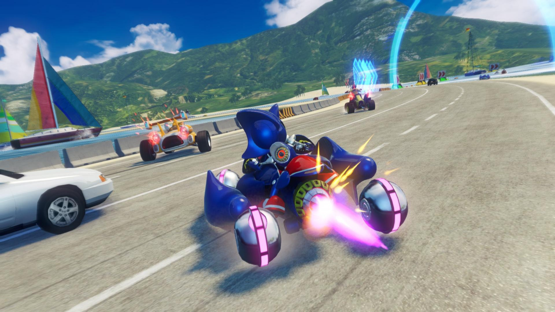 Download Sonic And All Stars Racing Transformed Metal