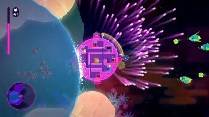 Lovers in a Dangerous Spacetime screenshot 2