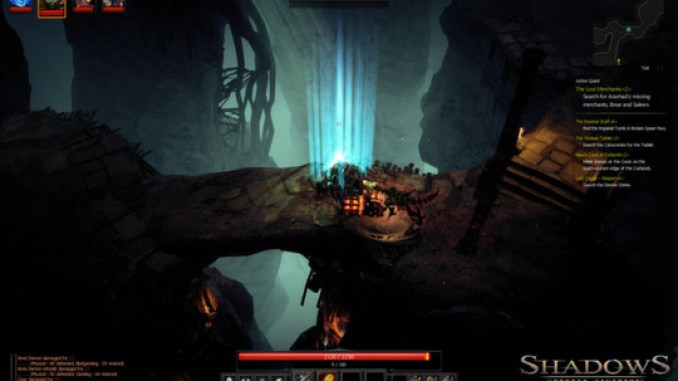 Shadows: Heretic Kingdoms screenshot 1