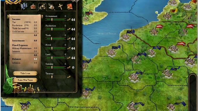 Europa Universalis III Complete screenshot 2