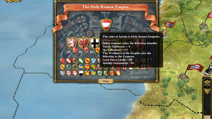 Europa Universalis III Complete screenshot 3