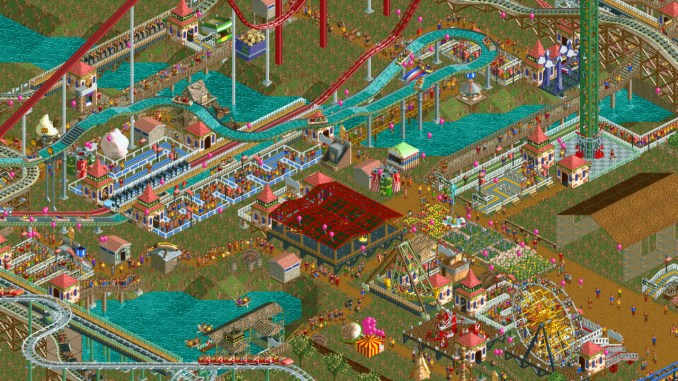 Rollercoaster Tycoon 2: Triple Thrill Pack screenshot 1