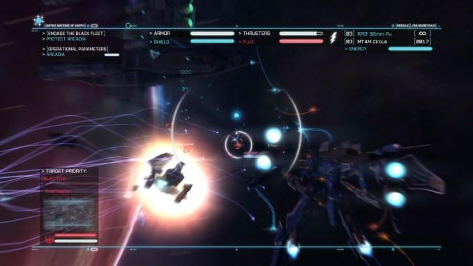 Strike Suit Zero: Director's Cut screenshot 3