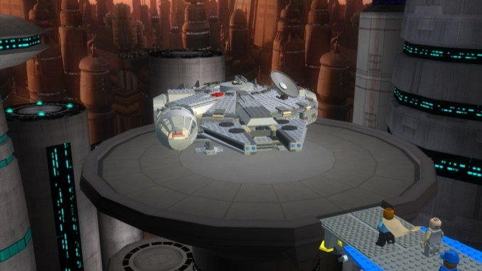 LEGO Star Wars: The Complete Saga screenshot 1