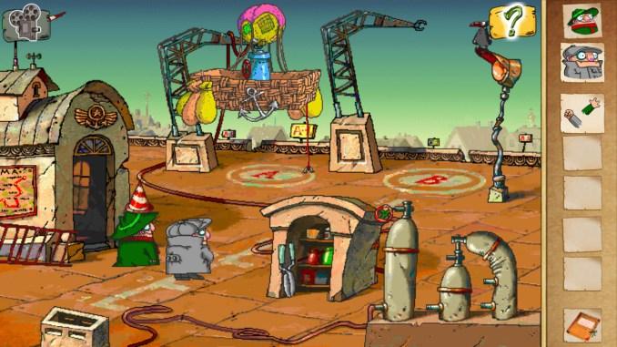 Pilot Brothers screenshot 2