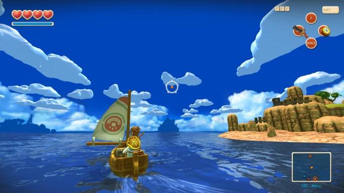 Oceanhorn: Monster of Uncharted Seas screenshot 1