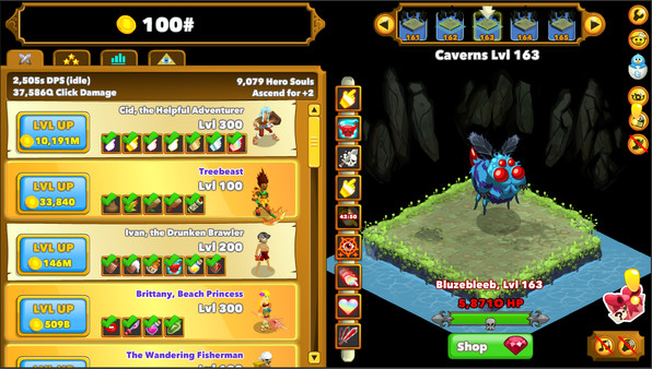 Clicker Heroes Free Download