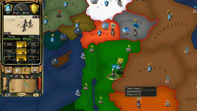 For The Glory: A Europa Universalis Game screenshot 2