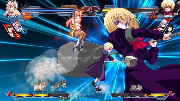 Nitroplus Blasterz Heroines Infinite Duel PC Free Download