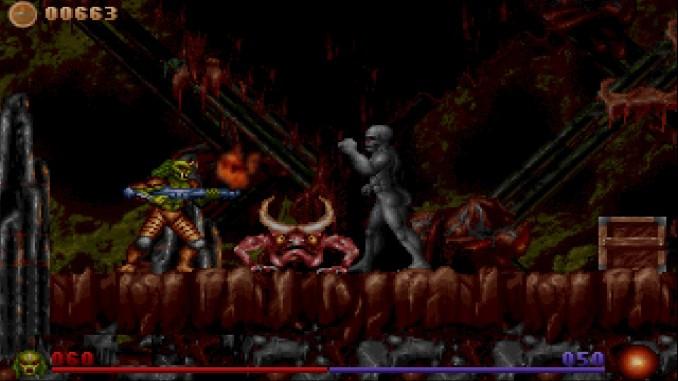 Alien Rampage screenshot 1