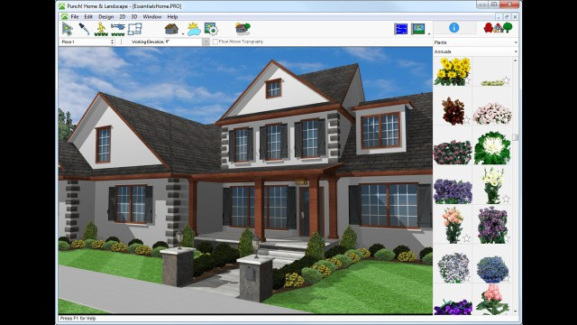 Download punch home landscape design essentials v19 for Punch home landscape design crack