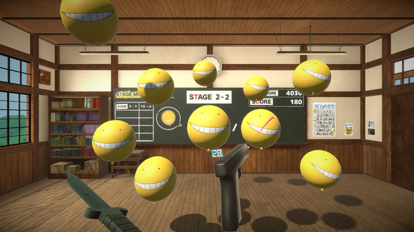 Assassination ClassroomVR Balloon Challenge Time Free Download